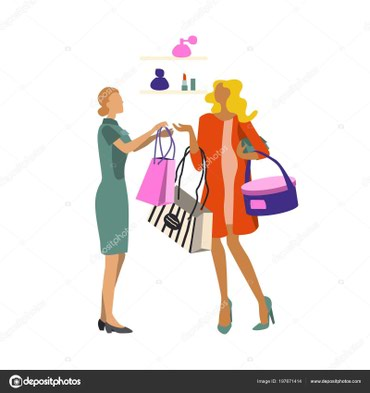 В сеть магазинов итальянской женской в Бишкек