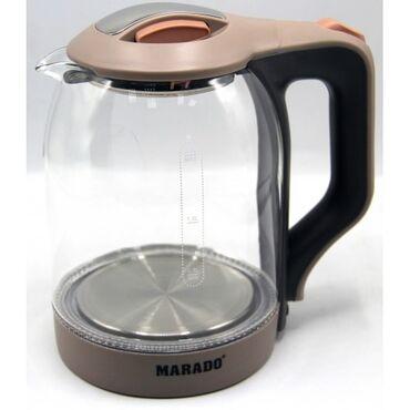 Тефальэлектрочайник Marado, объем 2.0л, мощность 1500w MA-0806Листайте