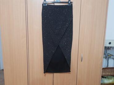 Suknja duzina - Srbija: Koton sljasteca suknja, napred je kraca, nazad duza, M