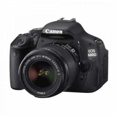 Продаю зеркальный фотоаппарат Canon EOS в Кок-Ой