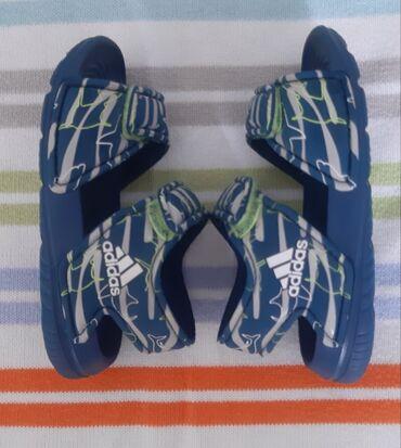 Adidas sandale broj 21 (ug 13-13,5) u odlicnom stanju,nosene jedno