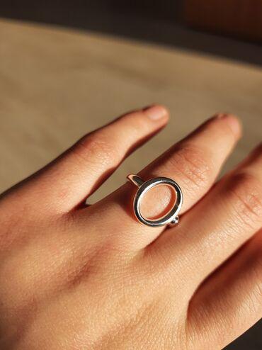 Минимализм всегда в моде Кольцо Покрытие серебро S925Размер