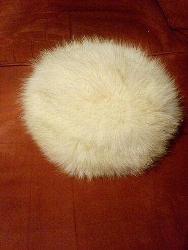 Subara od lisice bela, nova. Cena 1500 din
