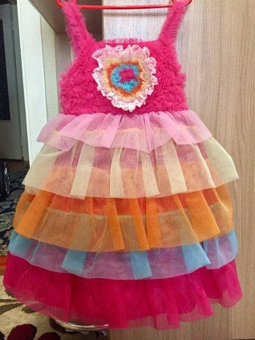 Продаю платье. На возраст 5-7 лет. в Бишкек