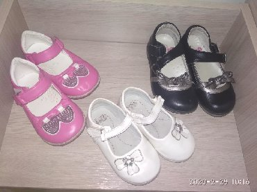 спортивная-мужская-обувь в Кыргызстан: Продаю детскую обувь для девочки в отличном состоянии.Беленькие 20