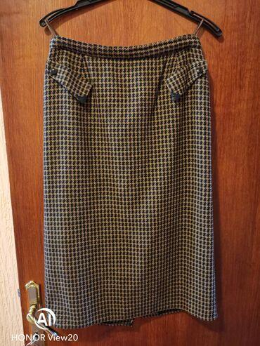 Sal dimenzije cm - Srbija: Kao nova vunena suknja. Velicina 42DimenzijeObim struka : 78 cmObim