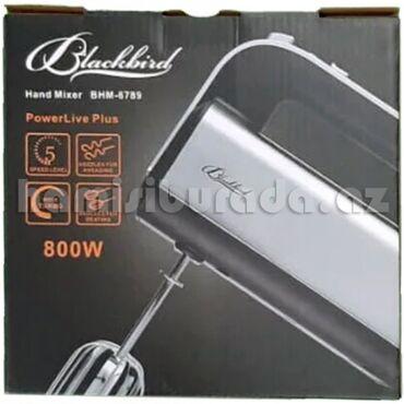 iphone чехол чёрный в Азербайджан: Mikser Blackbird BHM-6789Brend:BlackbirdMotor Gücü:800 WBaşlıq