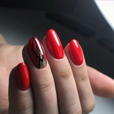 Акция  Наращивание ногтей+дизайн 700 Мастер со стажем   Стерилизация
