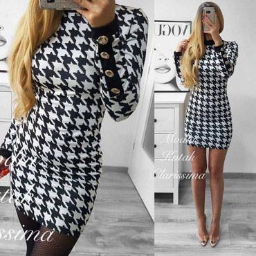 Crno/bela haljina NOVO! - Pirot