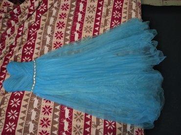 вечернее платье на выпускной в Кыргызстан: Продается платье выпускное/вечернее. Новое. Размер 36-38. Одевалось 1