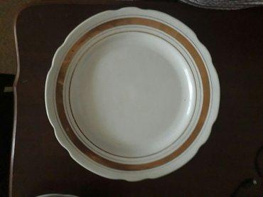 Bakı şəhərində Bulud 1 ,5 dərin böyük boşqab 1 ədəd salat qabı