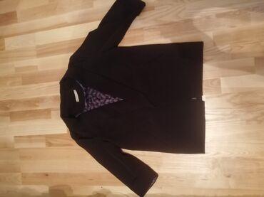 Пиджак оверсайз, черный бу