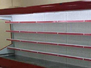 Оборудование для бизнеса в Токмак: СРОЧНО продается открытый витринный холодильник. Размер 2 метра. В хор