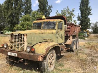 Услуги самосвалов - Кыргызстан: Краз самосвал