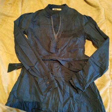 Блузка-рубашка с завязками, размер 42 в Бишкек