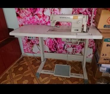 швейная машинка маленькая купить в Кыргызстан: Швейная машина. Промышленная швейная машина, Прямострочка. Шьёт матери