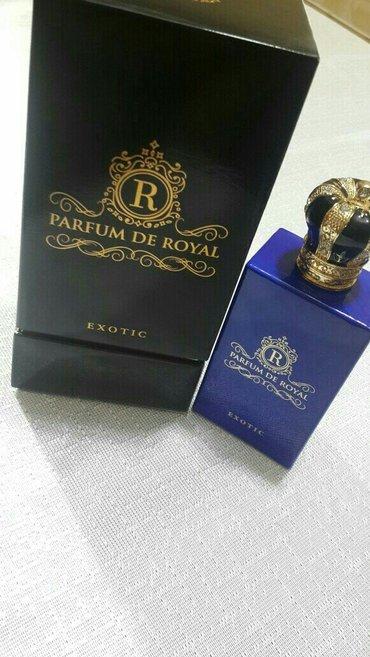 Bakı şəhərində Parfum de royal  orijinal hediyye verilib maqazinde 450azn orgene bile
