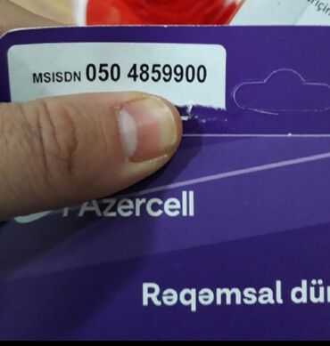 azercell dublikat - Azərbaycan: AZERCELLYeni nömrə 050 485 99 00Dərhal müştərinin adına keçiriləcək