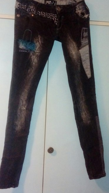 Pantalone-benetton-e - Srbija: Pantalone e. R. J. Jeans m moderno! Samo danas 899din!!! Moderne