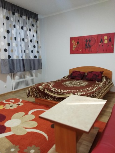 посуточно в Кыргызстан: 1 комнатная кв-студия,в районе Шлагбаума,по ул. Интергельпо