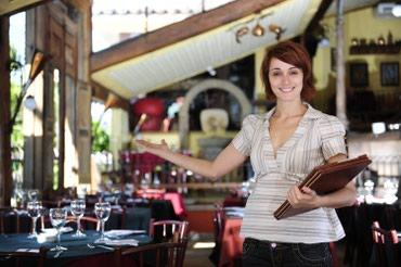 Работа в США: Хостес в Ресторан в Бишкек