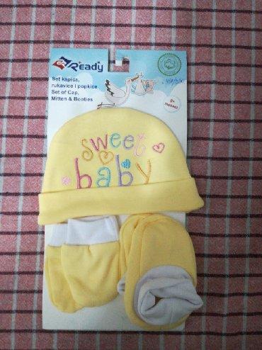 Ostala dečija odeća   Vranje: Nov Ready set za bebe (uglavnom novorodjenčad). Plaćen 330 dinara