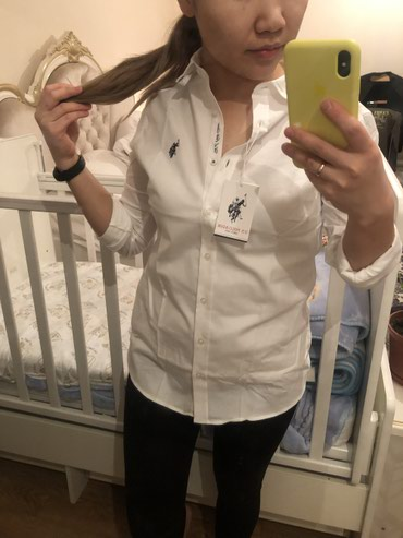 Рубашка Поло, оригинал новая! Размер S (36) цена со скидкой 2500 сом в Бишкек