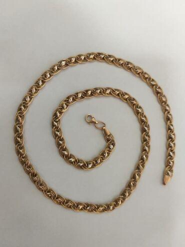 фата для девичника бишкек в Кыргызстан: Шикарная цепь 11,9грамЧистое золото 585проба, 50см.Торг нет, цена