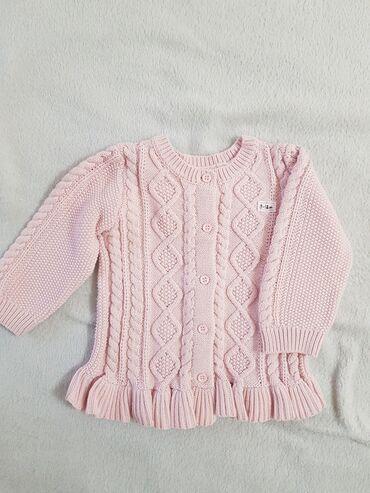 Детские кардиганы (Англия) на девочку 9-12 мес. 100% Cotton. Состояние