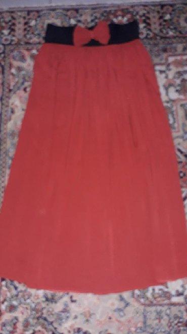 Suknja-obim-struka - Srbija: Lagana suknja na lastiš,viskoza,obim struka se rasteže preko 100cm
