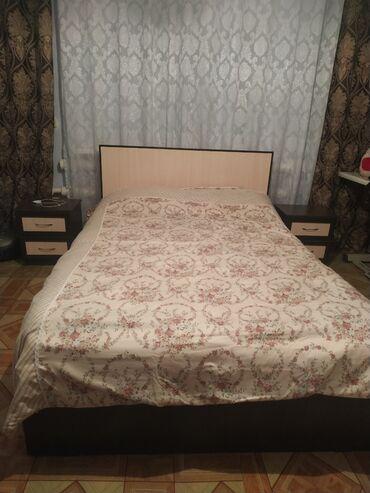 Гарнитуры - Сокулук: Продаю срочно срочно. Спальный гарнитур. Двух спальная кровать. Две