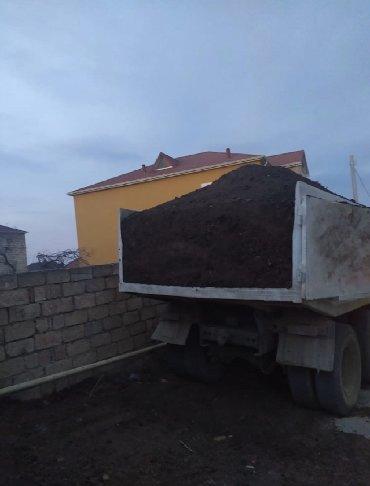 Qara torpag peyin Ismayilli samaxi erazisinden qara torpaq ve yanmis