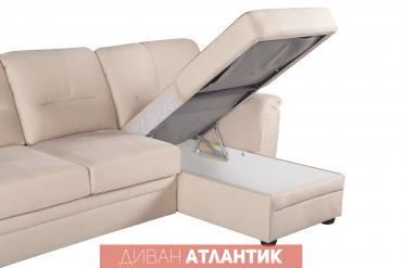 """ами мебель кухонный угловой диван николетти в Кыргызстан: Диван """"Атлантик"""" с канапе. Сделано в России. Мебельная"""