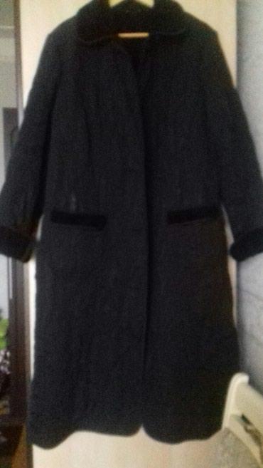 Bakı şəhərində Пальто стеганое на женщину.Большого размера.