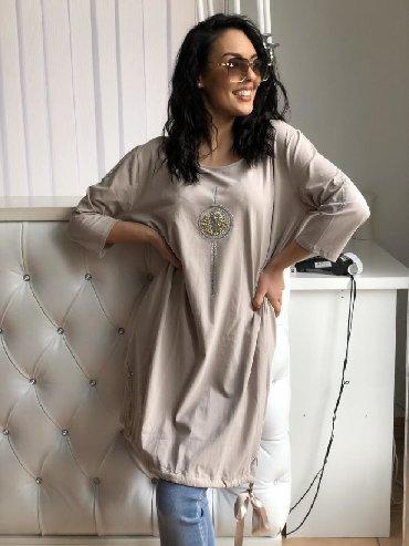 Pamucna haljina - Srbija: Savrsen model tunike / haljine  Pamucna udobna  Univerzalna vel 2390