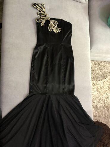 вечернее женское платье в Кыргызстан: Продаю женское вечернее платье; в размере 36 (S) ; надевала 1-раз;