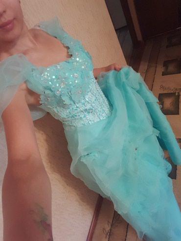 вечернее платье бирюзовый в Кыргызстан: Платье, бирюзового цвета, очень красивое качественное