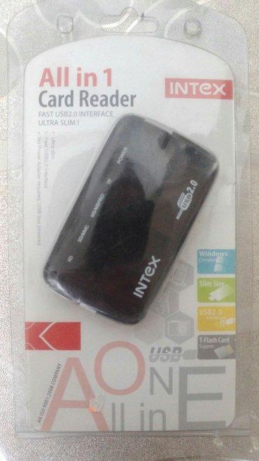 sound card - Azərbaycan: Card reader tәzә(новый)