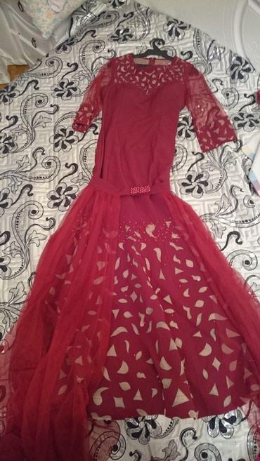 платье трансформер на выпускной в Кыргызстан: Платье- трансформер. + шлейф. одевала один раз на той. покупала за
