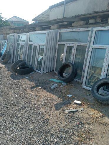 Pəncərələr - Azərbaycan: 140×160=110 manat 1 eded teze plastik teze pencere ölculər coxdu