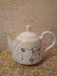 Çaydanlar - Azərbaycan: Dəm çaydanı. Bir iki dəfə işlənib