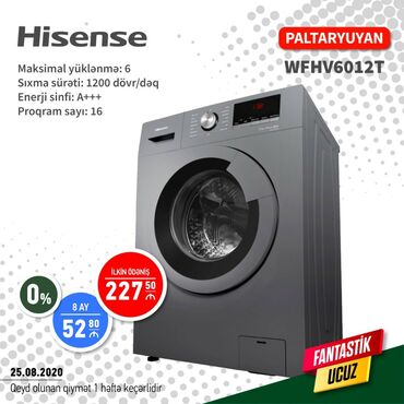 Telefon vitrin - Azərbaycan: Avtomat Washing Machine
