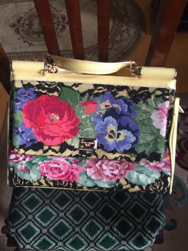 Личные вещи - Масазыр: Dolce&Gabbana firması'nın orginal çantası Az işlenmiş