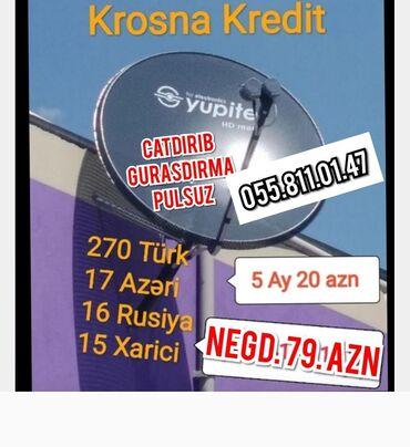 peyk - Azərbaycan: Krosna kredit peyk antena kreditNegdi 65 aznCatdirib gurasdirma