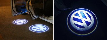 VW Golf 4, Caddy, Touran LED Logo projektori za vrata  VOLKSWAGEN - - Zrenjanin