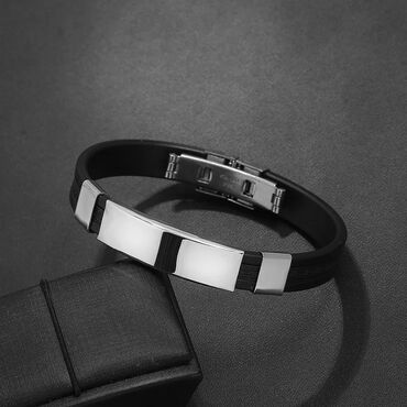 Высококачественные браслеты из титановой стали. Нержавеющий сталь