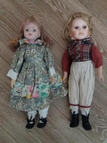 Keramicke lutke visine 45 cm...keramicka glava,ruke i noge...veoma - Pozarevac