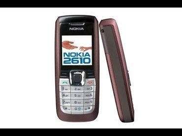 Nokia 2610 akcija 1000rsd radi na telenor mrezi - Belgrade