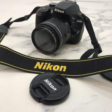 Фотоаппарат Nikon D3400+карта памяти 32 гб+плотный качественный чехол