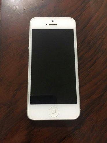 Bakı şəhərində I phone 5 (yaxwi veziyyetde, problemsiz iwleyir)original batareyka,